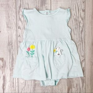 🛍4 for $25 🛍 Carters Baby Girl Blue Dress Mouse